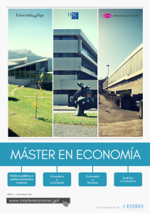 Master en economia_Poster